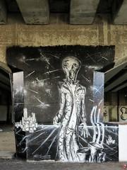 Keep Punching Joe / Keizerviaduct - 22 aug 2018 (Ferdinand 'Ferre' Feys) Tags: gent ghent gand belgium belgique belgië streetart artdelarue graffitiart graffiti graff urbanart urbanarte arteurbano ferdinandfeys