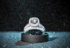 Details (The Barrel Steward) Tags: wedding rings set sparkle weddingbands details diamond engagement flash nikon d810 macro micro 200mmf4 bowlinggreen kentucky mist