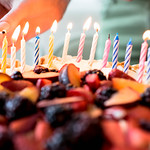 Person lighting candles thumbnail