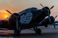 Lufthansa Traditionsflug D-CDLH Sunrise HAJ (U. Heinze) Tags: aircraft airlines airways flugzeug planespotting plane haj hannoverlangenhagenairporthaj sky himmel nikon eddv