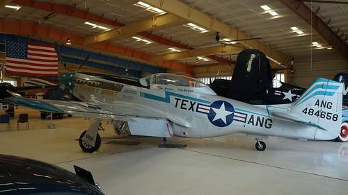 North American NA-122 TF-51D-25-NA Mustang in Santa Teresa