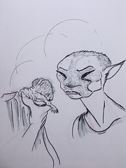 34 One (Scruffy Mynxbane) Tags: king cockroaches girl named son novella novel writing illustration fiction monotooth vampire