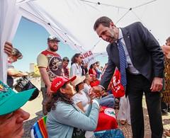 Ato inter-religioso reúne Nobel da Paz em apoio a Lula e solidariedade a grevistas. Foto: Magno Romero           Data:14/agosto/2018 (PTnaCâmara) Tags: ato inter religioso nobel da paz lula solidariedade stf greve de fome enio verri