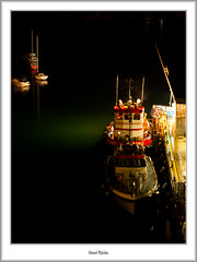 Brixham Pilot Boats At Night (flatfoot471) Tags: 18125sigma 2016 boats brixham devon england july landscape marina merchant mtsindus mtspathfinder night normal ships summer tugs unitedkingdom urban gbr