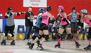 MRJ Game 14: Kickin Vixens (New Glasgow NS) vs Scies-Reines (Rimouski QC) (July 22 2018, Dieppe NB)