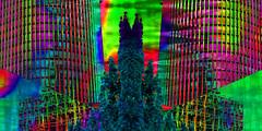 Torre en espejo (seguicollar) Tags: imagencreativa photomanipulación art arte artecreativo artedigital virginiaseguí torre edificio espejo mirror brillante colorido tratamiento