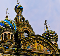 SPBPanoCSB6d (preacher43) Tags: st petersburg russia church savior spilled blood building architecture history onion dome s steeple