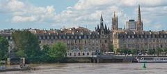 Bordeaux, Gironde, SW France (surreydock) Tags: gironde france bordeaux garonne river quayside quays cathedral