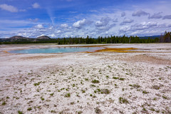 Opal Pool (mariola aga) Tags: yellowstonenationalpark wyoming midwaygeyserbasin opalpool landscape nature wideangle coth coth5