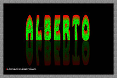 EL SIGNIFICADO DE ALBERTO. THE MEANING OF ALBERT. NEW YORK CITY. (ALBERTO CERVANTES PHOTOGRAPHY) Tags: alberto albert meaning maestro teacher familia family alone love retrato portrait photography photoart reflejo reflection writing text blackbackground green red luz light color colores colors brightcolors brillo bright indoor outdoor blur texture abstract creative design sign diseño greeting world fire colorlight purelove heart allyouneedislove filter flame black peace paz loveisallaround nightcolor night imagen image effect history