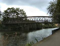 Greyfriars Bridge (Mrs Fogey) Tags: water river bridge trees riversevern greyfriarsbridge shrewsbury shropshire