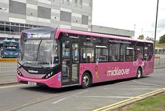 YX66WLO Trent Barton 104 (martin 65) Tags: transport trent travel wrightbus optare versa vehicle enviro e200 mmc derbyshire derby mansfield nottinghamshire road public barton wellgrade buses bus