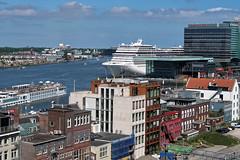 Port of Amsterdam (Jainbow) Tags: portofamsterdam cruiser liner ship jainbow doubletreebyhilton view mscmagnifica