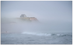 Ethereal Fog, Hirtle's Beach (Fundy Rocks) Tags: novascotia hirtlesbeach beach seascape landscape professionalphotographer fog waves mist atlantic eastcoast