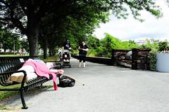 Nap in the park (matthewjaymartin) Tags: burlington vermont vt sleeping walking