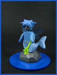Psi~Renn (Karf Oohlu) Tags: lego moc figure minifig fairy fish wand seawitch seafairy fairyfish