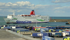 18 08 10 Stena Europe arriving Rosslare (30) (pghcork) Tags: stenaline ferry ferries carferry stenaeurope ireland wexford rosslare ships shipping