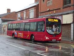 trent barton 682 Ripley (Guy Arab UF) Tags: trent barton 682 fj55abn scania l94ub wright solar bus ripley high street derbyshire wellglade buses wellgladegroup