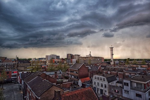 Storm clouds above Hengelo, The Netherlands