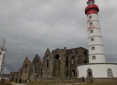 6-phare pointe st Mathieu et ruines abbaye (mariefranoiseg) Tags: brest