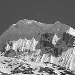 Massive cornices on a Baltoro peak thumbnail