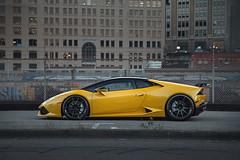 Yellow Lamborghini Huracan LP610-4 - ADV.1 ADV10 M.V2 CS Series Gloss Black Wheels (ADV1WHEELS) Tags: blackwheels blackrims lamborghini lamborghinihuracan lp610 lp6104 adv1 adv1wheels forgedwheels customwheels lambo