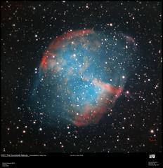 M27 aout 2018 (astrophoto16) Tags: nebuleuse nebula newton ngc asi224mc astrophoto astronomy astrophotographie astronomie 300mm zwo planetaire planetary astrometrydotnet:id=nova2755422 astrometrydotnet:status=failed