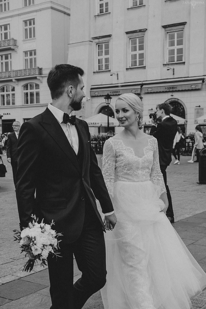 134 - ZAPAROWANA - Kameralny ślub w Krakowie