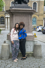 DSC_6678 John Wesley's Chapel City Road London with Alesha from Jamaica and Tricia from Ghana Two Beautiful Ladies (photographer695) Tags: john wesley's chapel city road london with alesha from jamaica tricia ghana two beautiful ladies