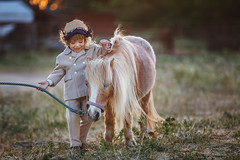 Daniella with pony (www.sergeybidun.com) Tags: kid horse ride picture girl
