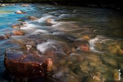 Sunset time. (N.Batkhurel) Tags: river season summer sunset water mongolia ngc nikon nikondf 24120mm stone
