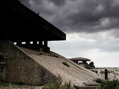 Dark Secrets - The Pagoda's (davepickettphotographer) Tags: orfordness nationaltrust wwwnationaltrustorguk suffolk east eastern england uk eastanglia awre atomicweaponsresearchestablishment atomic weapons research establishment coldwar nuclear testing pagodas