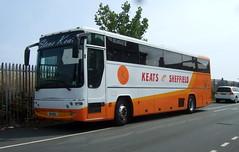 Keats Travel of Sheffield (Hesterjenna Photography) Tags: sig9512 church bus psv keates travel excursion plaxton premiere dennis javelin sheffield p886urf coach