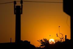 Alvorada (Felipe F Barros) Tags: sol alvorada nascerdosol manha amanhecer poste luz sombra luzesombra nascer do amanhecendo manhã céu itapevi eu amo canon canon60d 60d eos canonbr canonbrasil canonsãopaulo canonitapevi
