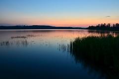 Sunset at lake Mommilanjärvi (Villikko) Tags: hausjärvi mommilanjärvi lake järvi landscape maisema night yö ilta sunset auringonlasku water vesi finland suomi summer kesä