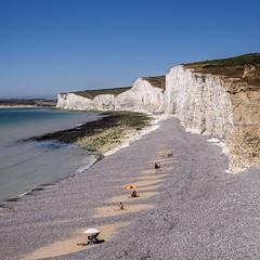 Seven sisters (AndMakeItSnappy) Tags: sevensisterseast sussexenglish channellandmarkenglandbeauty spot seascape beach sea blue chalk