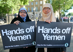 Hands Off Yemen (alisdare1) Tags: handsoffyemen yemen protest demonstration bombing famine theresamay downingstreet armsexports saudiarabia uae hodeidah