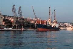Lady_Farida (Rijeka u slikama) Tags: rijeka croatia port seagull galeb pentaxk7 hrvatska