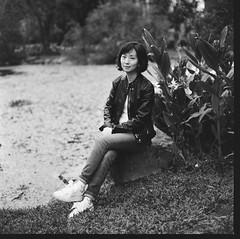 000913110007 (Steven Tsai (正港蔡爸)) Tags: hasselblad501c hasselblad planar128f80mm shanghaigp3100 expiredfilm bw mediumformat analog film filmphotography