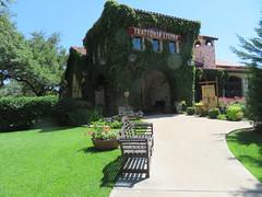 Trattoria Lisina (The Old Texan) Tags: texas restaurant italian driftwood monday bench