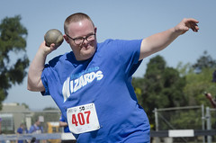 SONC SummerGames18 Tony Contini Photography_0448 (Special Olympics Northern California) Tags: 2018 summergames trackfield throwing athlete maleathlete teamwizards specialolympics