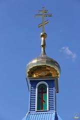 18. Водосвятный молебен с акафистом в с. Маяки 09.08.2018