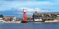P8120059 (bon97900) Tags: 2018 boats lighthouse lighthouseportadealide metro oldbuildings portadelaide southaustralia