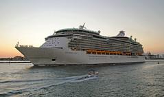 Navigator of the Seas (Infinity & Beyond Photography: Kev Cook) Tags: royalcaribbean navigator seas cruise ship boat vessel liner miami