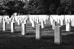 Beverly National Cemetery (Desmojosh) Tags: beverly national cemetery nj new jersey black white bw canon eos m 50mm f18