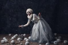 Inverno (valerio magini ph) Tags: winter woman portrait white cold art fashion