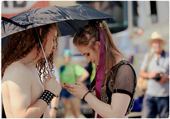 In the palm of her hands Pride in Brighton 2018 (pg tips2) Tags: pride brighton 2018 prideinbrighton2018 lgbt lgbtq