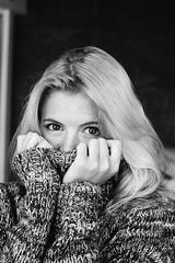 Elina (alexbrezhnev) Tags: girl russiangirl actress art bnw bw blackandwhite portrait studio brezhnevphotos