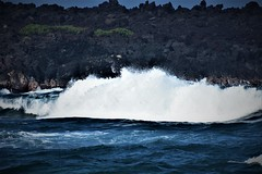 Big wave (thomasgorman1) Tags: waves nikon ocean sea seascape crashing nature island hawaii lavarock rocks