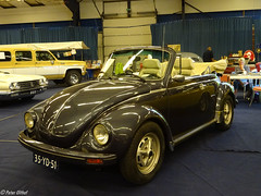 Volkswagen Kever Cabriolet (peterolthof) Tags: oldtimerbeurs leek peterolthof 35yd51